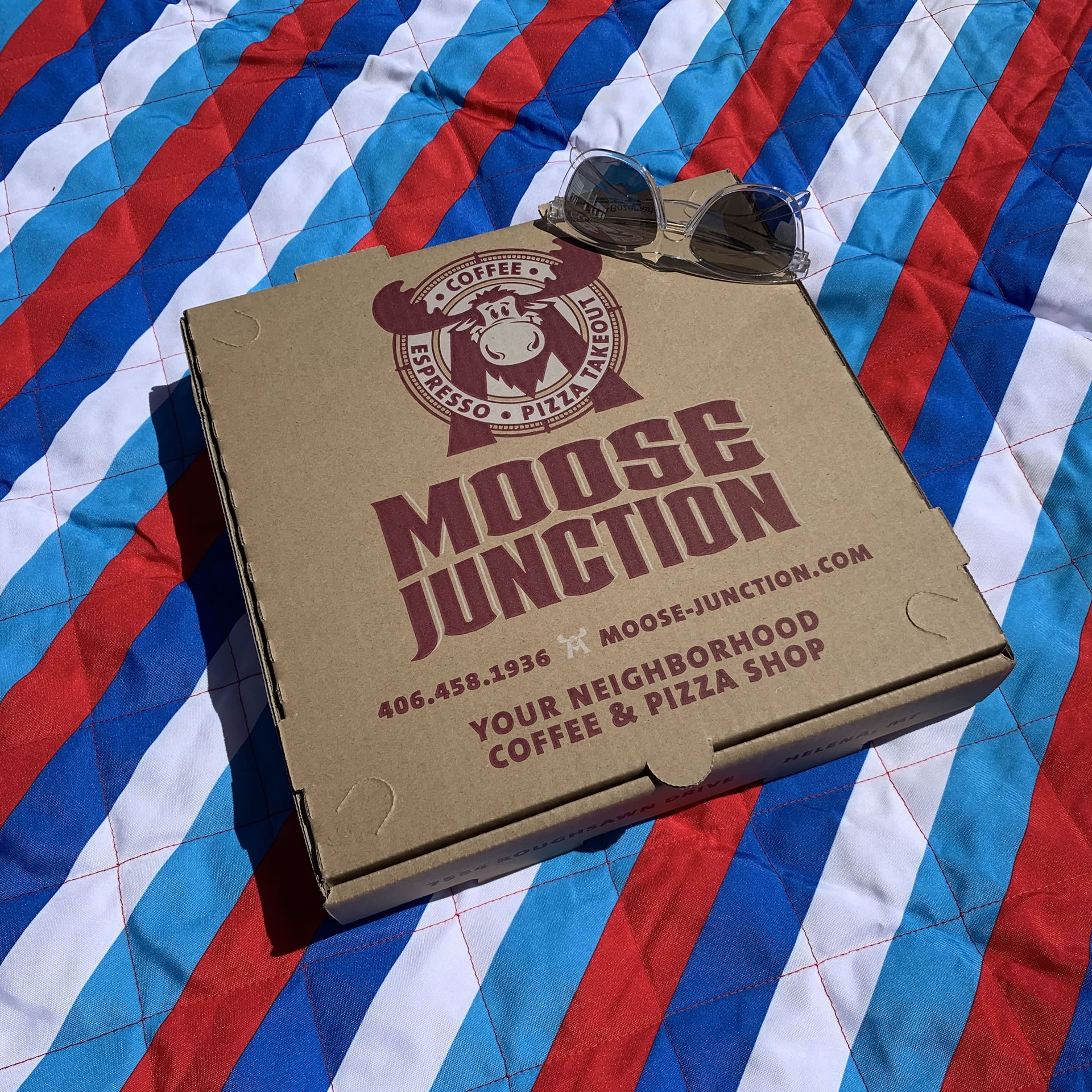 Moose Junction Pizza Box
