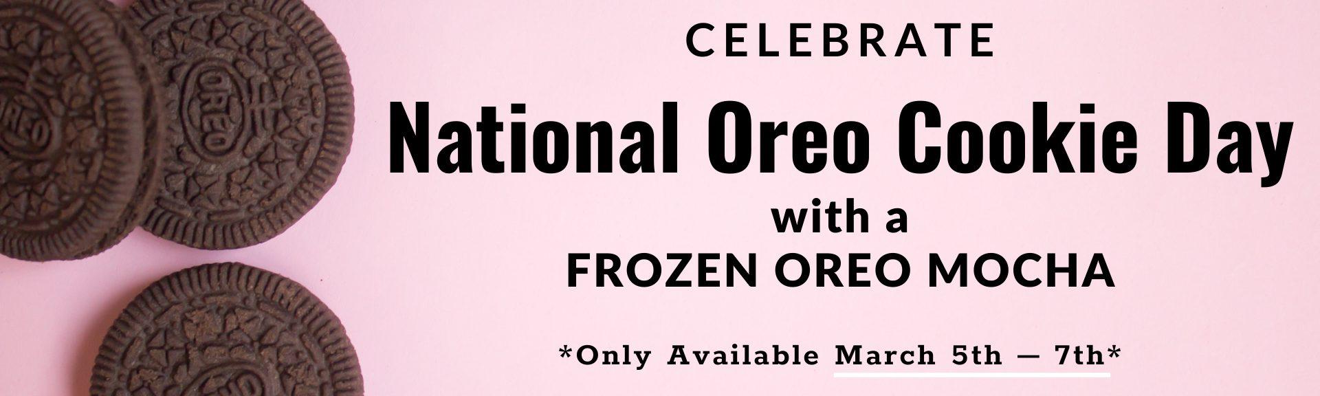 Frozen Oreo Mocha